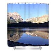 Heavenly Hike - Kananaskis Lakes, Alberta Shower Curtain