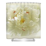 Heavenly Peony With Frame Shower Curtain
