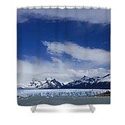 Heavenly Perito Moreno Glacier Shower Curtain