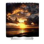 Heavenly Sunset Shower Curtain
