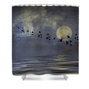 Heavens Gate Shower Curtain by Diane Schuster
