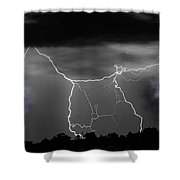 Heavens Gates Happy Easter Shower Curtain