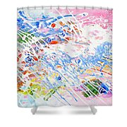 Heaven's Music Shower Curtain