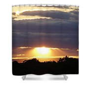 Heaven's Rays 3 Shower Curtain