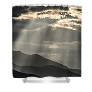 Heaven's Sunshines  Shower Curtain
