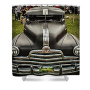 Heavy Metal 1941 Pontiac Shower Curtain