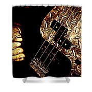 Heavy Metal Bass Shower Curtain