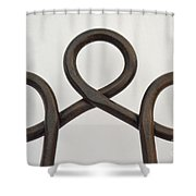 Heavy Metal Bends Shower Curtain