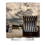 Heavy Times Shower Curtain