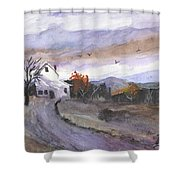 Hebo Farmhouse Shower Curtain