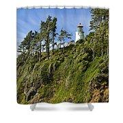 Heceta Head Lighthouse 1 A Shower Curtain