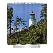Heceta Head Lighthouse 1 B Shower Curtain
