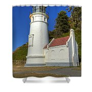 Heceta Head Lighthouse 1 C Shower Curtain