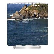 Heceta Head Lighthouse 2 D Shower Curtain
