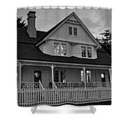 Heceta Keeper's House Shower Curtain