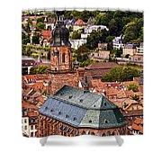 Heidelberg Church Of The Holy Spirit Shower Curtain