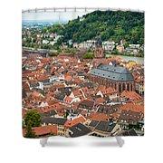 Heidelberg Deutschland Germany Shower Curtain