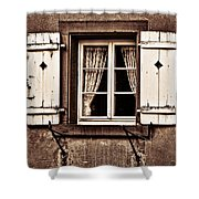 Heidelberg Window Shower Curtain