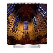 Heinz Memorial Chapel Pittsburgh Pennsylvania Shower Curtain