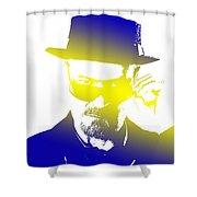 Heisenberg-3 Shower Curtain