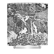 Come To Colorado And Fall In Love With Winter  Shower Curtain