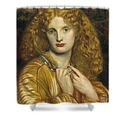 Helen Of Troy Shower Curtain by Philip Ralley