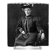 Helen Taft (1861-1943) Shower Curtain