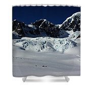 Helicopter New Zealand  Shower Curtain