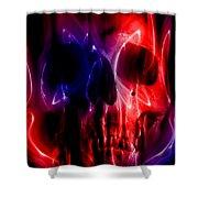 Hell Fire Shower Curtain