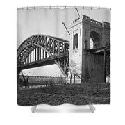 Hell Gate Bridge Shower Curtain