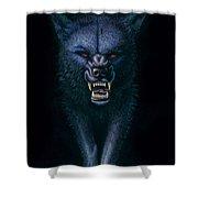 Hell Hound Shower Curtain