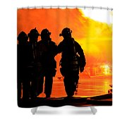 Hell Is For Hero's Shower Curtain