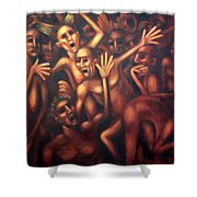 Hell The Alternative Shower Curtain