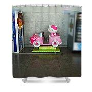 Hello Kitty Car Shower Curtain