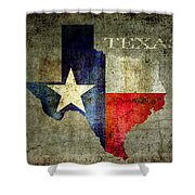 Hello Texas Shower Curtain