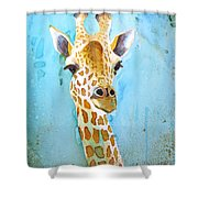 Hello There Shower Curtain