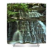 Hells Hollow Falls Shower Curtain