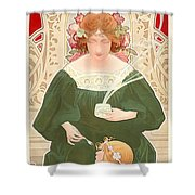 Helm Cocoa Shower Curtain