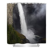 Helmcken Falls 2 Shower Curtain