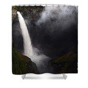 Helmcken Falls 1 Shower Curtain