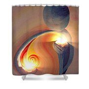 Helping Hands Energy Collection Shower Curtain