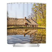 Helsingborg Cottage Millhouse Shower Curtain