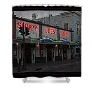 I Heard I Was In Town Shower Curtain by John Stephens