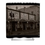 Hemingway Was Here Shower Curtain by John Stephens