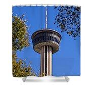 Hemisfair Park Tower Shower Curtain
