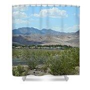 Henderson Nevada Desert Shower Curtain