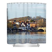 Henley-on-thames Shower Curtain