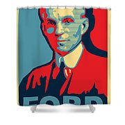 Henry Ford Shower Curtain