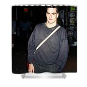 Henry Rollins 1991 Shower Curtain