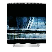 Her Watery Grave Shower Curtain
